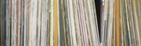 Row Of Music Records, Germany Fine Art Print