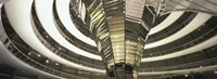 Interiors of a government building, The Reichstag, Berlin, Germany Fine Art Print