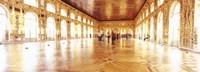 Group of people inside a ballroom, Catherine Palace, Pushkin, St. Petersburg, Russia Fine Art Print