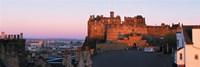 Castle in a city, Edinburgh Castle, Edinburgh, Scotland Fine Art Print