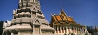 Pagoda near a palace, Silver Pagoda, Royal Palace, Phnom Penh, Cambodia Fine Art Print