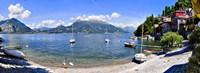 Boats on Lake Como Fine Art Print