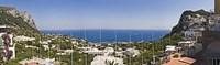 Town at the waterfront, Marina Grande, Capri, Campania, Italy Fine Art Print