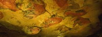 Paleolithic paintings, Altamira Cave, Santillana del mar, Cantabria, Spain Fine Art Print