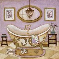 Lavender Bath II Fine Art Print