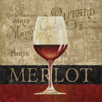 Merlot Framed Print