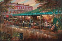 Cafe de Monde Framed Print