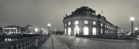 Bode-Museum on the Museum Island at the Spree River, Berlin, Germany Fine Art Print