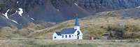 Old whalers church, Grytviken, South Georgia Island Fine Art Print