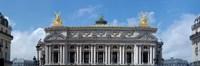 Low angle view of an opera house, Opera Garnier, Paris, Ile-de-France, France Fine Art Print