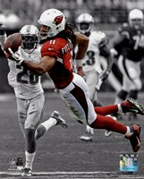 Larry Fitzgerald 2013 Spotlight Action Fine Art Print
