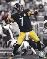 Ben Roethlisberger 2013 Spotlight Action Fine Art Print