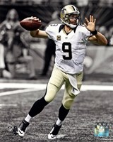 Drew Brees 2013 Spotlight Action Fine Art Print