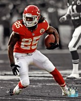 Jamaal Charles 2013 Spotlight Action Fine Art Print