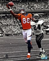 Demaryius Thomas 2013 Spotlight Action Fine Art Print