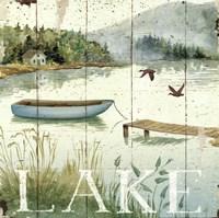Lakeside II Fine Art Print