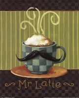 Cafe Moustache VI Fine Art Print