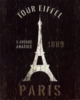 Refurbished Eiffel Tower Fine Art Print