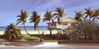 Seagrapes Cottage Fine Art Print