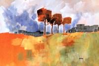 Four Trees Fine Art Print