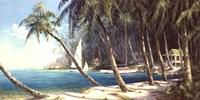 Bali Cove Fine Art Print