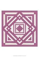 Modern Quilt VI Framed Print