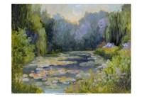 Monet's Garden I Fine Art Print