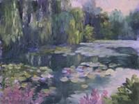Monet's Garden II Fine Art Print