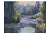 Monet's Garden III Fine Art Print