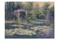 Monet's Garden IV Fine Art Print