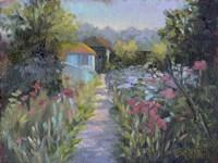 Monet's Garden V Fine Art Print