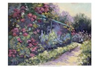 Monet's Garden VI Fine Art Print