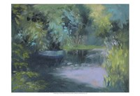 Monet's Garden VIII Fine Art Print