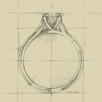 Ring Design II Fine Art Print