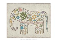 Laurel's Elephant II Framed Print