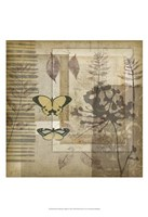 Small Notebook Collage II Framed Print