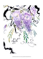 Wisteria Garden III Fine Art Print