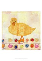 Polka Dot Duck Fine Art Print