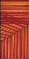 Line Study Orange Fine Art Print