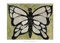 Butterfly Text Fine Art Print