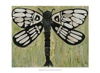 Dragonfly Text Fine Art Print