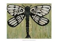 Dragonfly Text Fine Art Print