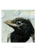Bubbles - Birdbath Fine Art Print