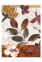 Modern Flowers I Fine Art Print