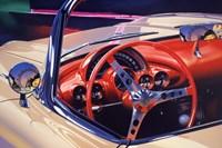 '58 Corvette Fine Art Print
