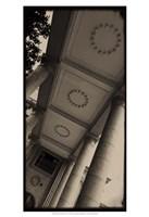Sepia Architecture I Fine Art Print
