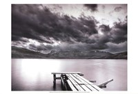 Lake with Dock Fine Art Print