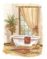 Watercolor Bath in Spice II Fine Art Print