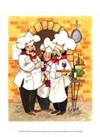Wine Chefs Fine Art Print