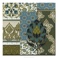 Persian Patchwork II Framed Print